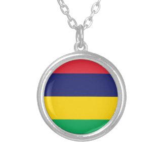 安価! マリシャスの旗 シルバープレートネックレス