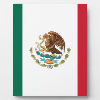 安価! メキシコの旗 フォトプラーク