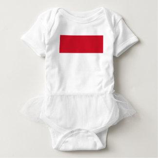 安価! モナコの旗 ベビーボディスーツ