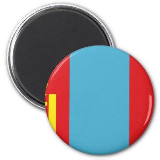 安価! モンゴルの旗 マグネット