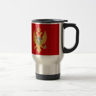 安価! モンテネグロの旗 トラベルマグ
