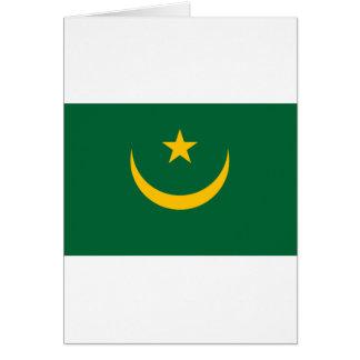 安価! モーリタニアの旗 カード