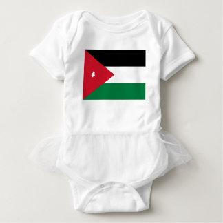 安価! ヨルダンの旗 ベビーボディスーツ