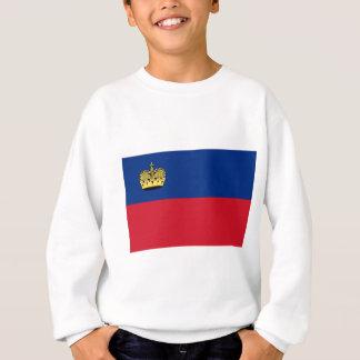 安価! リヒテンシュタインの旗 スウェットシャツ