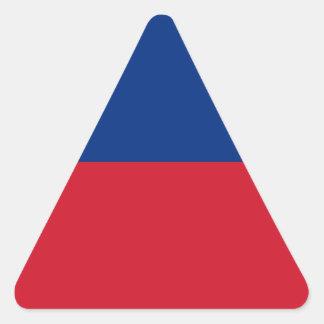 安価! リヒテンシュタインの旗 三角形シール