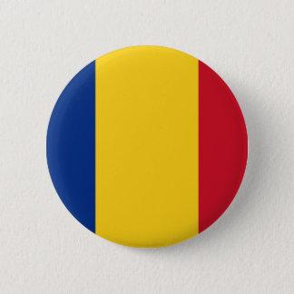 安価! ルーマニアの旗 缶バッジ