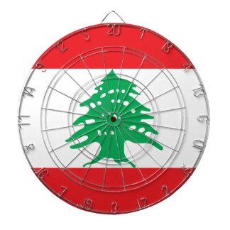 安価! レバノンの旗 ダーツボード