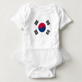 安価! 南朝鮮の旗 ベビーボディスーツ