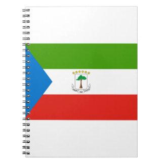 安価! 赤道ギニアの旗 ノートブック