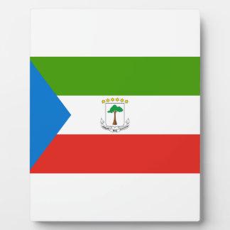安価! 赤道ギニアの旗 フォトプラーク