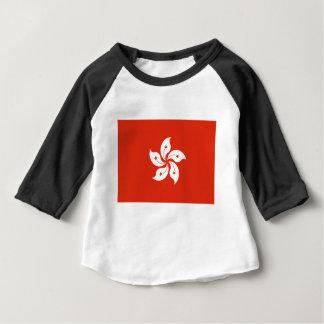 安価! 香港の旗 ベビーTシャツ