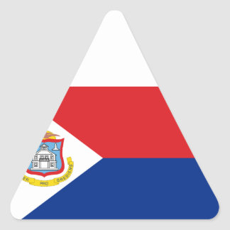 安価! Sint Maartenの旗 三角形シール