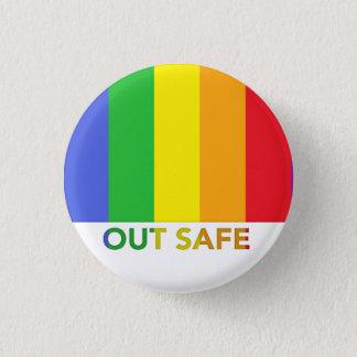 安全なボタン 缶バッジ