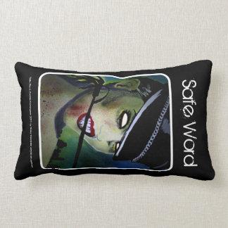 「安全な単語」の(Lumbar)アメリカ人のMoJoの枕 ランバークッション