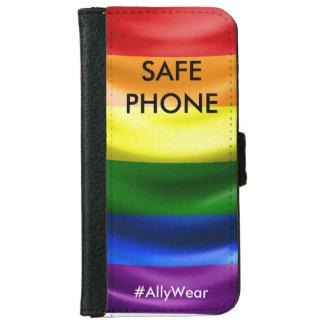 安全な地帯の電話箱 iPhone 6/6S ウォレットケース