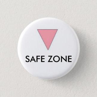 安全な地帯 缶バッジ
