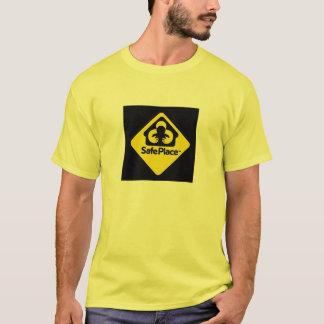 安全な場所か。 Tシャツ