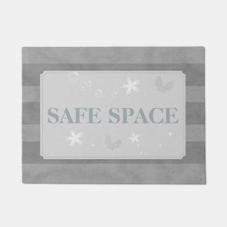 安全な宇宙の濃紺 ドアマット