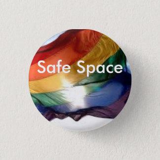 安全な宇宙Pin 3.2cm 丸型バッジ