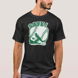 安全な緑 Tシャツ