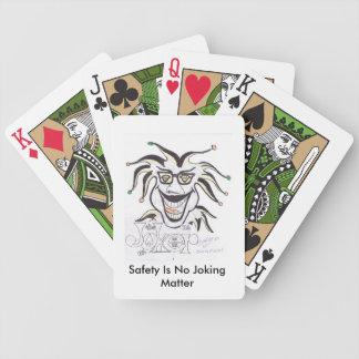 安全はカードを遊ぶ冗談を言う問題ではないです バイスクルトランプ