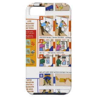 安全カード iPhone 5 カバー