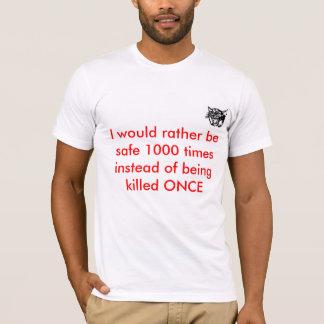 安全スローガン Tシャツ
