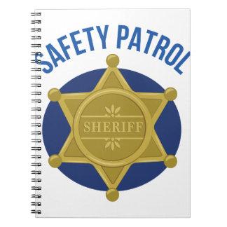 安全パトロール ノートブック