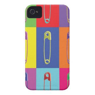 安全ピンのポップアートの場合 Case-Mate iPhone 4 ケース