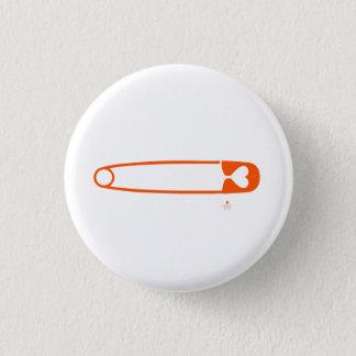 安全ピンボタン 3.2CM 丸型バッジ