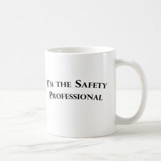 安全プロフェッショナルのマグ コーヒーマグカップ
