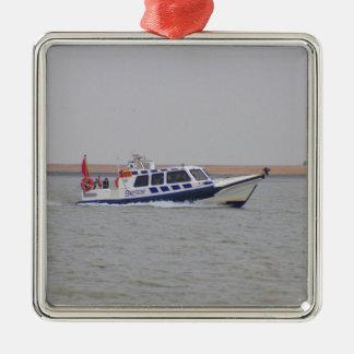 安全ボート メタルオーナメント