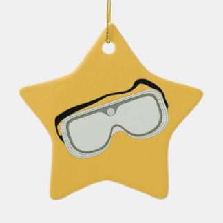 安全メガネ セラミックオーナメント