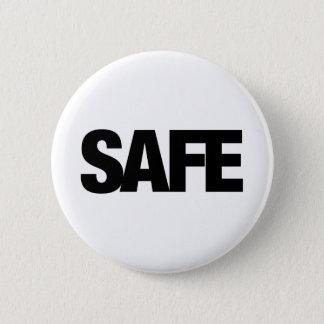 安全 缶バッジ