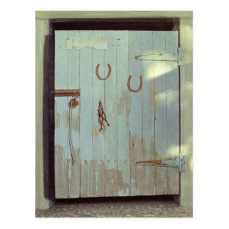 安定したドア1990年 ポストカード