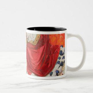 完了するヴァージンの即位1454年 ツートーンマグカップ