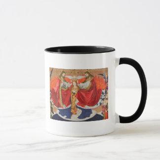 完了するヴァージンの即位1454年 マグカップ