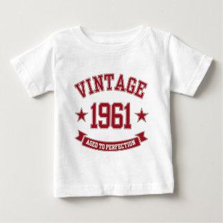 完全さに老化する1961年のヴィンテージ ベビーTシャツ