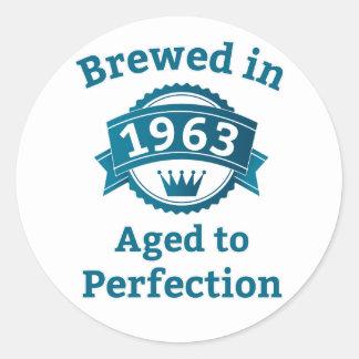完全さに老化する1963で醸造される ラウンドシール