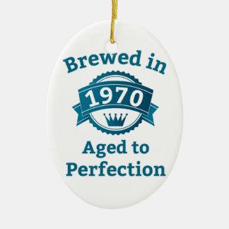 完全さに老化する1970で醸造される セラミックオーナメント