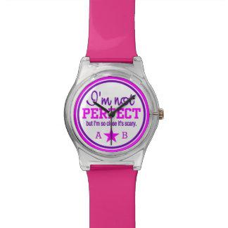 完全ではないカスタムなモノグラムの腕時計 腕時計