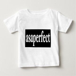 完全とすぐできるだけ早くasaperfect ベビーTシャツ