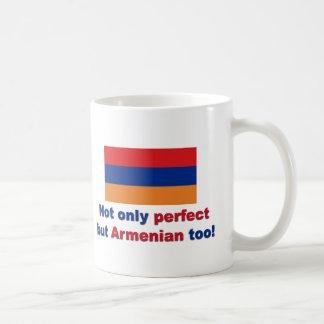 完全なアルメニア語 コーヒーマグカップ