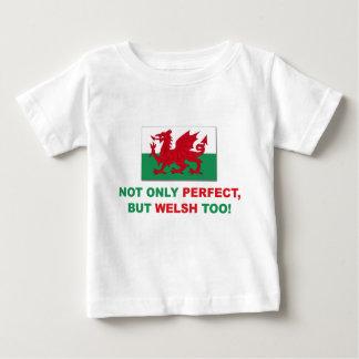 完全なウェールズ ベビーTシャツ