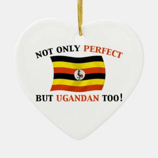 完全なウガンダ人 セラミックオーナメント