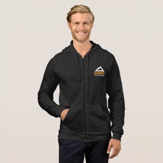 完全なジッパーのフード付きスウェットシャツを訓練する頂上のフィットネス パーカ