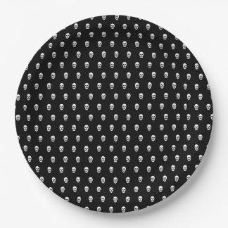 完全なスカルパターン ペーパープレート
