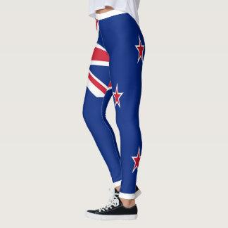 完全なニュージーランドの旗 レギンス