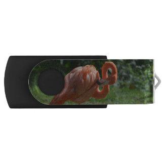 完全なピンクのフラミンゴ USBフラッシュドライブ