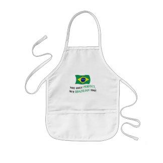 完全なブラジル人 子供用エプロン